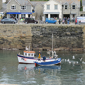 Porthleven Fishing village